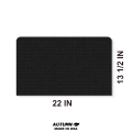 Dust Cover for Manual Projector, Dimensions (H x L): 22 x 13.5 inches